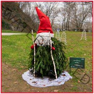 Red Mill Christmas Gnome