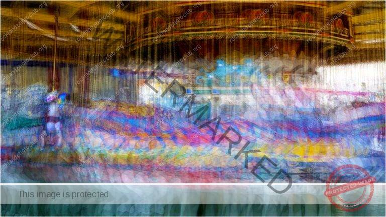 262 Linda Kontos_All Things Considered ADVANCED COLOR_Carrousel Blur_Award