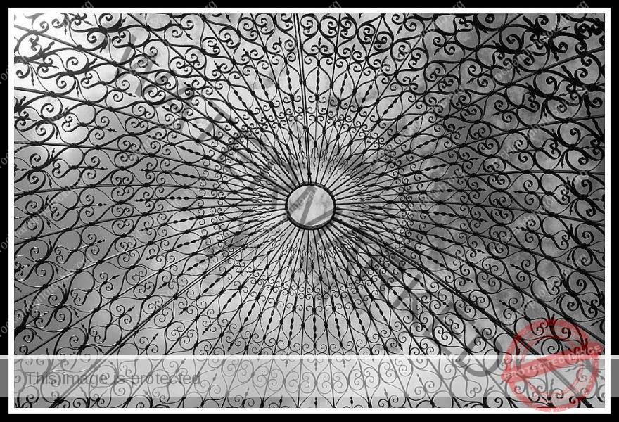 202 Debra Wallace_Looking Up or Looking Down SALON MONOCHROME_Looking up through the Temple of Love_9 Award
