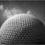 117 John Young_AbstractOpen Mind SALON MONOCHROME_Spaceship Earth_8 Honorable Mention