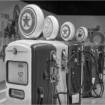 123 Mike Iuzzolino_Pictorial #2 SALON MONOCHROME_Gas Pumps of the Past_8 Honorable Mention