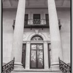 202 Debra Wallace_Architecture SALON MONOCHROME_The Side Entrance at the Staatsburgh Mansion_8 Honorable Mention