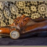 202 Debra Wallace_Pictorial SALON COLOR_Bobs Favorite Italian 1945 Shoes & pocket watch_8 Honorable Mention