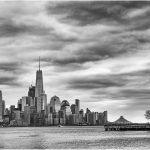 256 Jan Nazalewicz_Land, Sea, and Cityscapes ADVANCED MONOCHROME_Lower Manhattan View from Hoboken_8 Honorable Mention