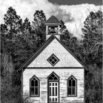 257 Andrea Swenson_Architecture SALON MONOCHROME_Lonely Little Church in the Woods_8 Honorable Mention