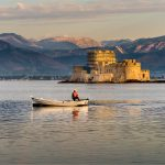 257 Andrea Swenson_Land, Sea, and Cityscapes SALON COLOR_Nafplio Harbor by Early Light_8 Honorable Mention