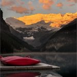 257 Andrea Swenson_Pictorial #2 SALON COLOR_Sunrise at Lake Louise_8 Honorable Mention